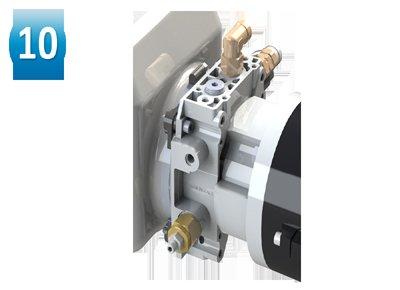 Adjustable descent valve.