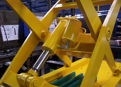 Detail of Holding / catching devise system.