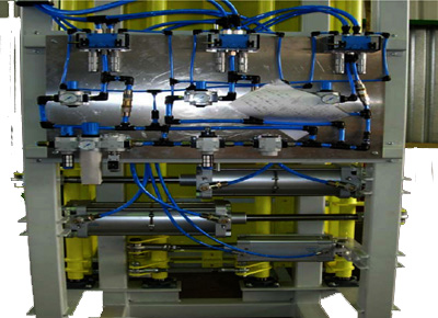 Detail pneumatic packer system.