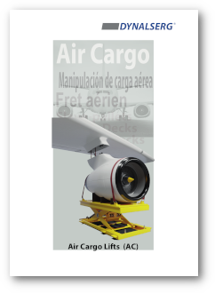 Dynalserg Air Cargo Lifts Catalogue Cover page