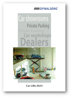 Dynalserg Car Lifts Catalogue Cover page