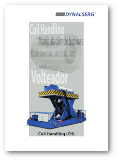 Dynalserg Coil Handling Catalogue Cover page