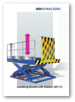 Dynalserg Loading Dock Lift Tables Catalogue Cover page