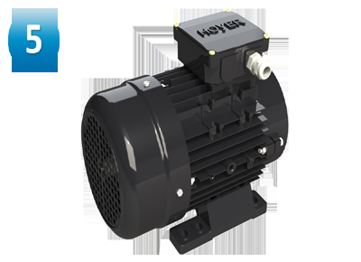 IP55 motor protection