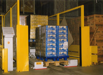 PTS for Euro-pallet without central skid