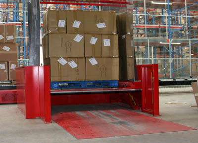 PTS for crossed chep pallet with ramp
