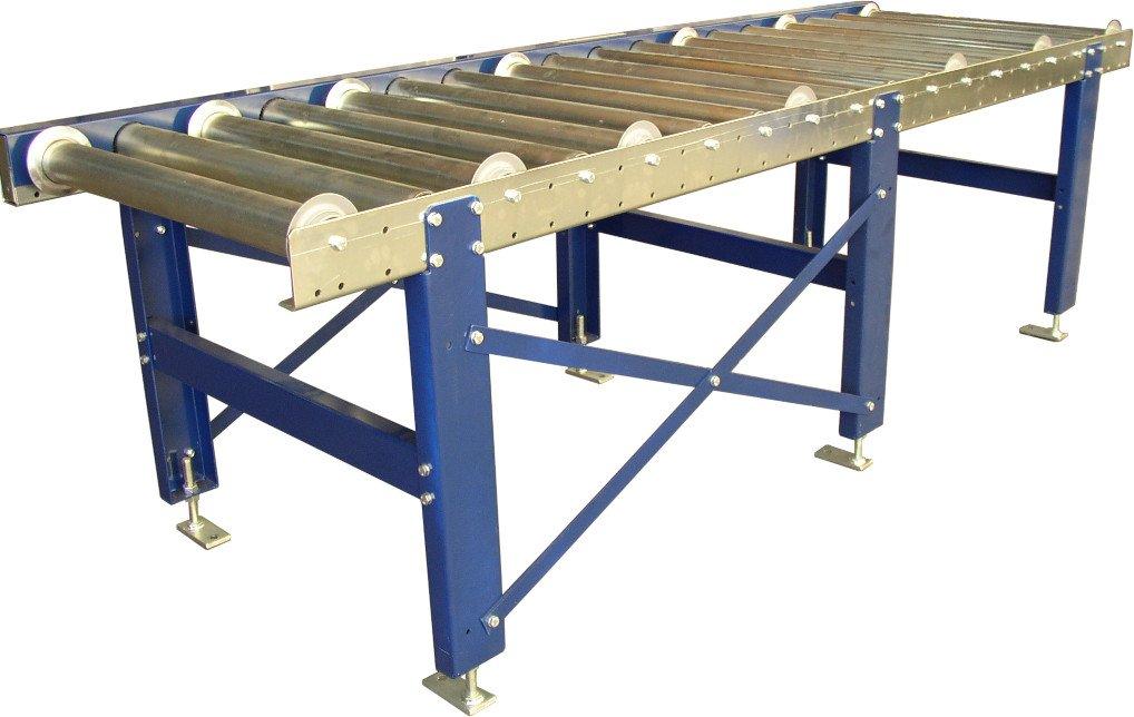 Roller conveyor.