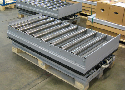 Conveyors.