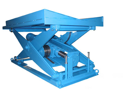 Spindle lift table with prism for coils.