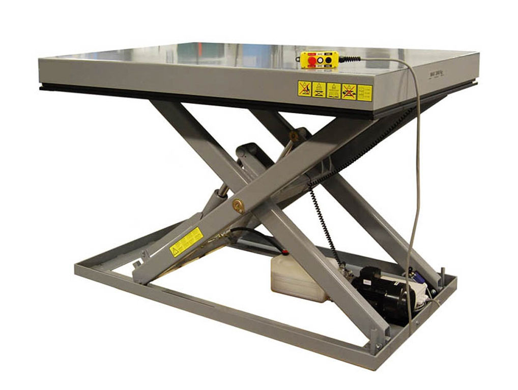 Standard simple scissor lift table