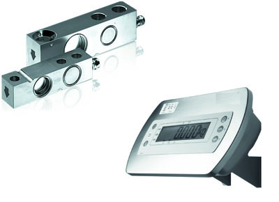 Weighing module for lift table.
